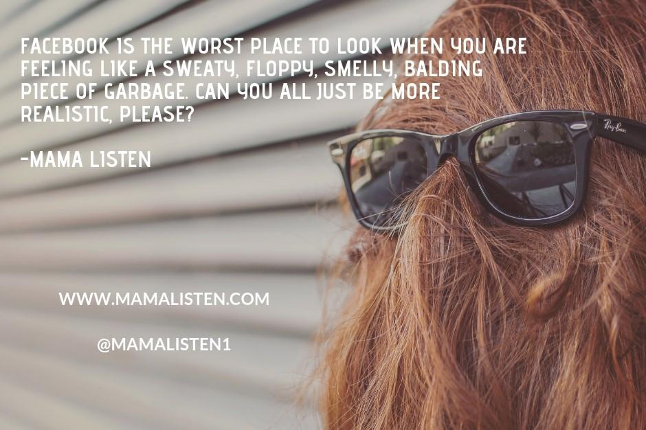 Hair Sunglasses Beauty Hair Facebook Post (1)